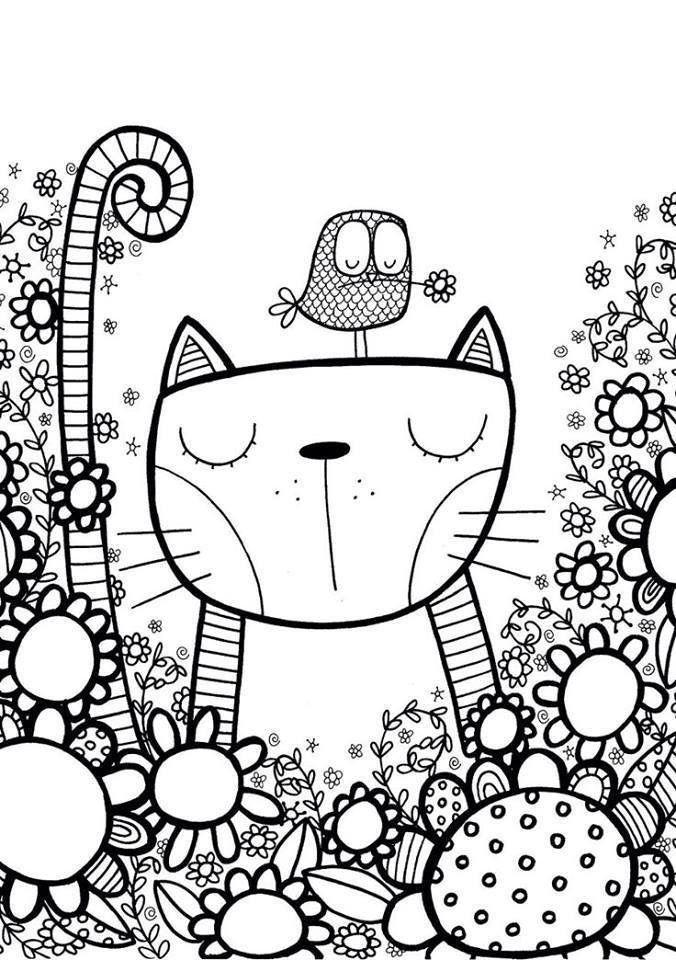 Desenho Antiestresse Doodle Art Desenhos Para Pintar Desenhos