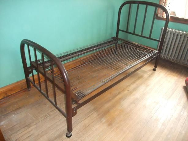 antique iron bed frame Google Search GojiraSet Pinterest