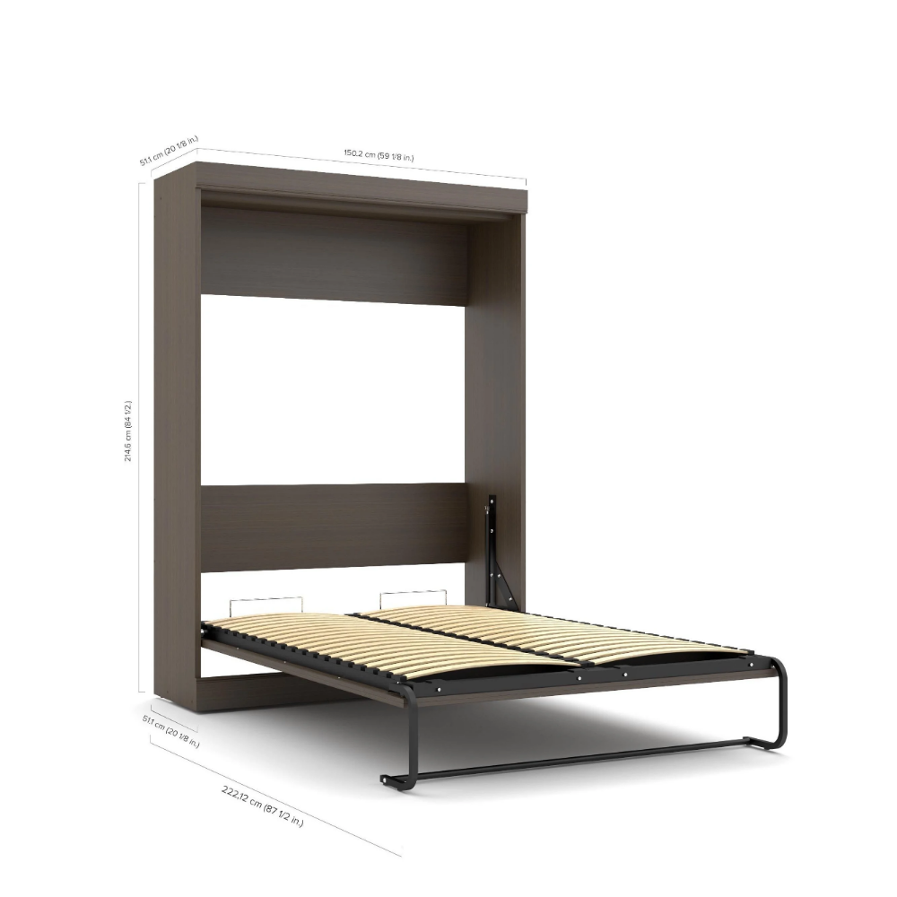 Edge by Bestar Full Size Wall Bed Wall bed, Bed, Furniture