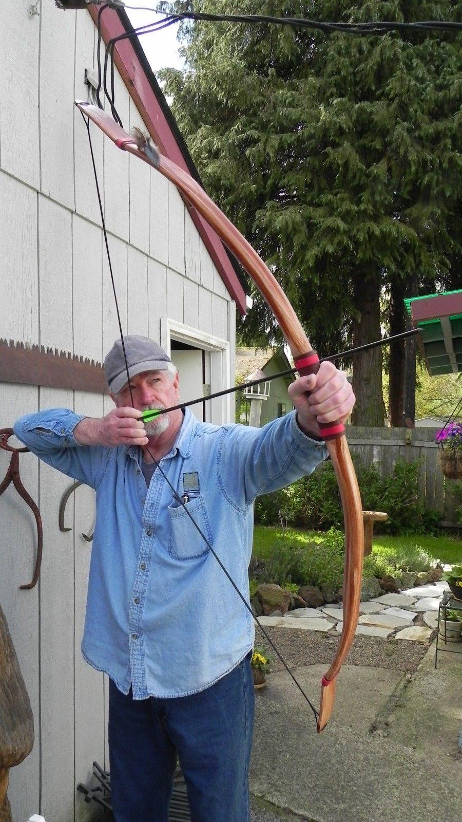 Archery Recurve 40 45 Lb Quot Native American Buckskin Bow Quot 60
