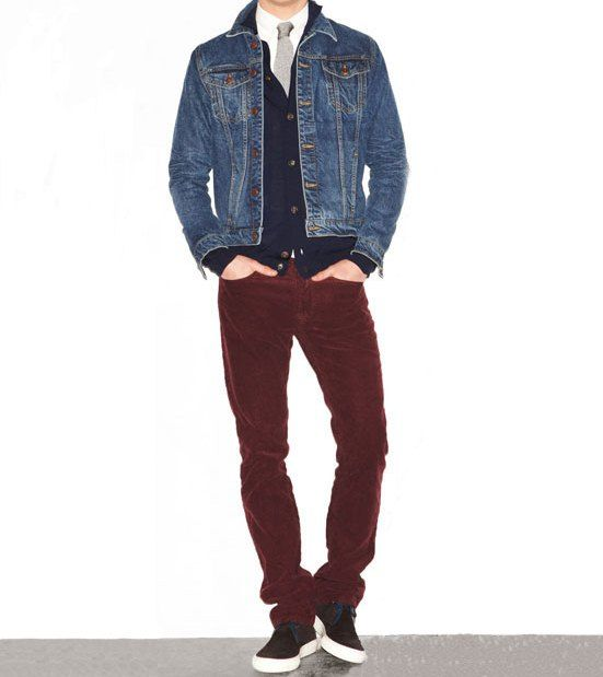 Denim and Maroon for game day. | Gameday Style | Pinterest ...
