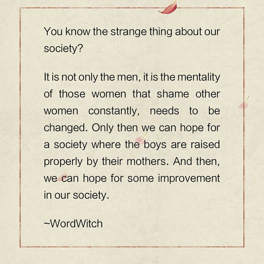 society and the wrong mentality. Quotes on life.  Life quotes