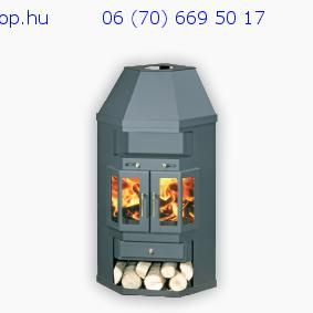 Panorama 2 AB central heating fireplace stove – KandalloWebsh …