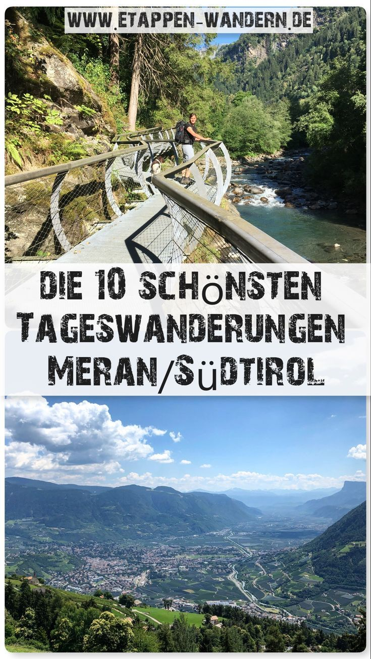 Photo of The 10 most beautiful hikes in Merano and Environs – stage hiking