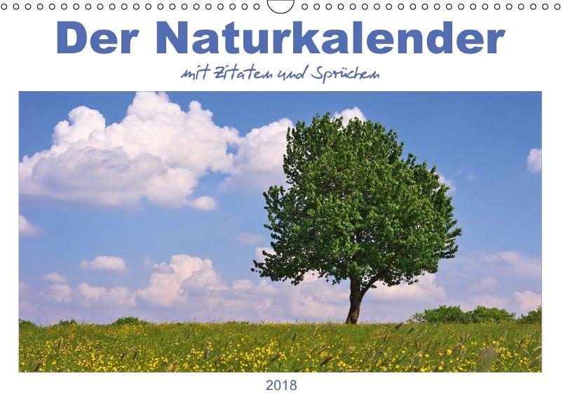 Der Naturkalender mit Zitaten und Sprüchen - CALVENDO
