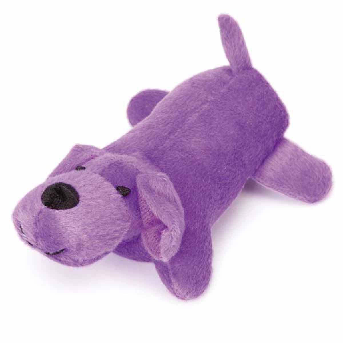 Zanies Neon Yelpers Dog Toy Purple Toy Puppies Small Dog Toys