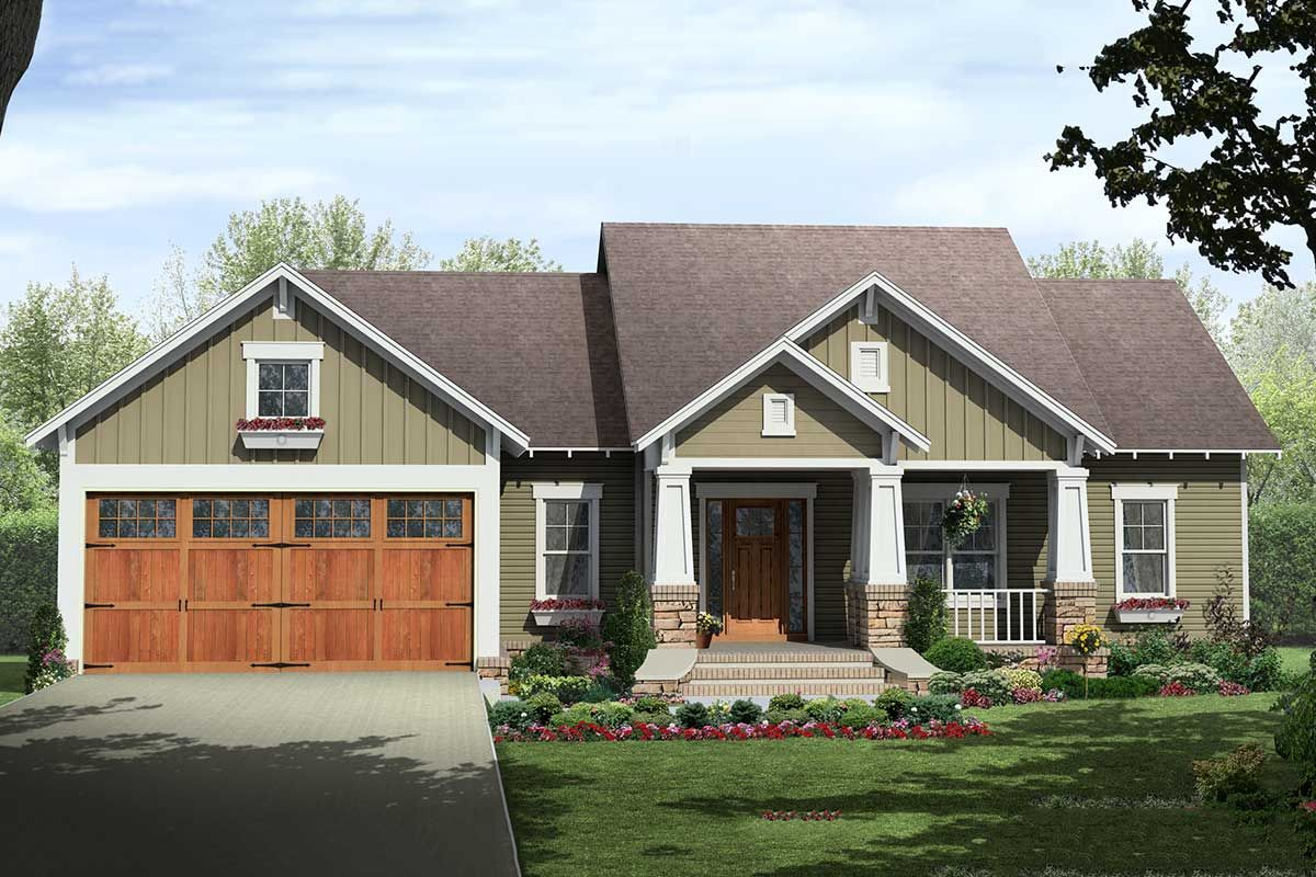 Plan 51131mm Creative Craftsman With Options In 2020 Craftsman Style House Plans House Designs Exterior Craftsman House Plans