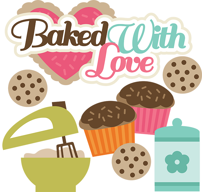 1938+ Baked With Love Svg SVG Design