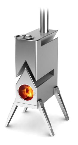 Termofor siberian stoves heaters fireplaces wood for Small rocket heater