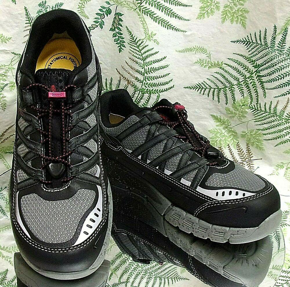 Keen ashville black gray esd aluminum toe safety work