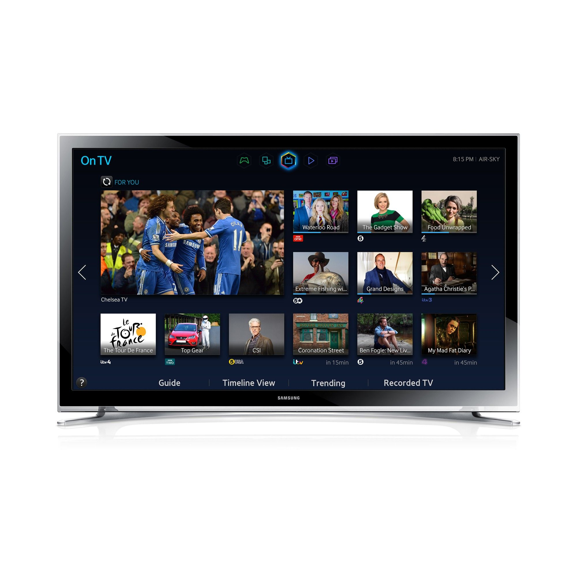 """The Samsung UE22H5600 is a 22 inch Full HD Smart LED TV"