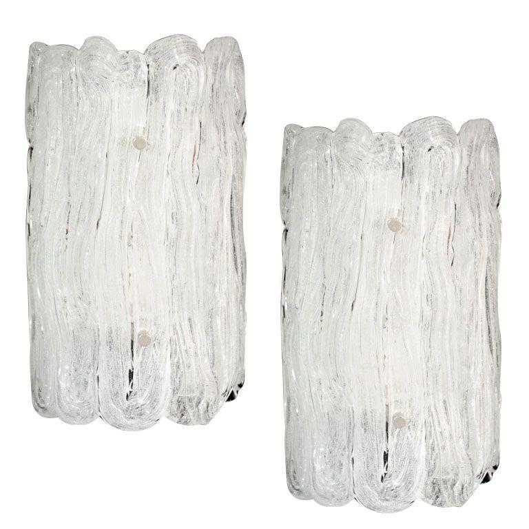 Murano Glass Sconces on 1stDibs