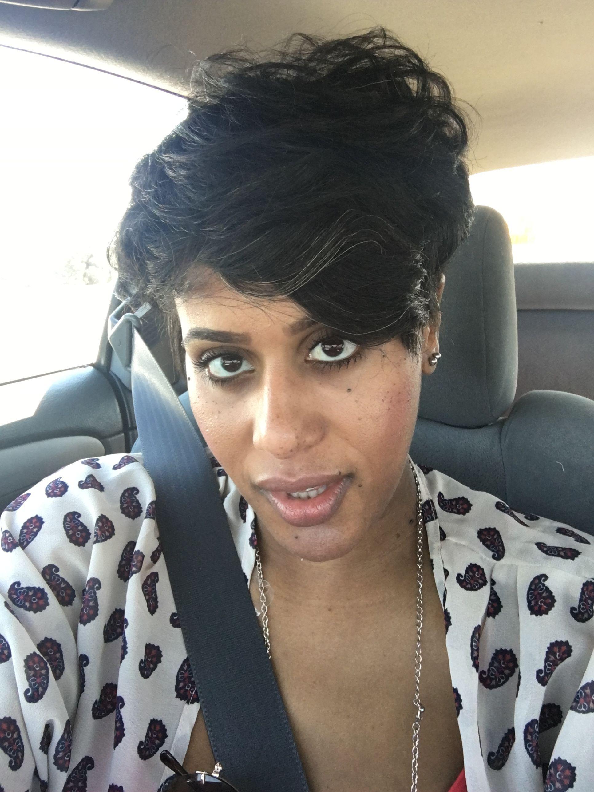 Short natural haircuts african american taperedsidestaperedsides
