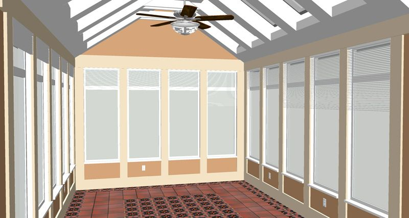 Construct A 200 Square Foot Sunroom Addition Including Footings And Slab On Grade Foundation Description Fro Sunroom Addition Sunroom Cost Home Addition Cost