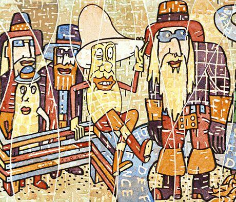 Postmodern Art Old Values And Zeitgeist Detail Of Watercolor By Francis Berry Postmodern Art Postmodernism Art