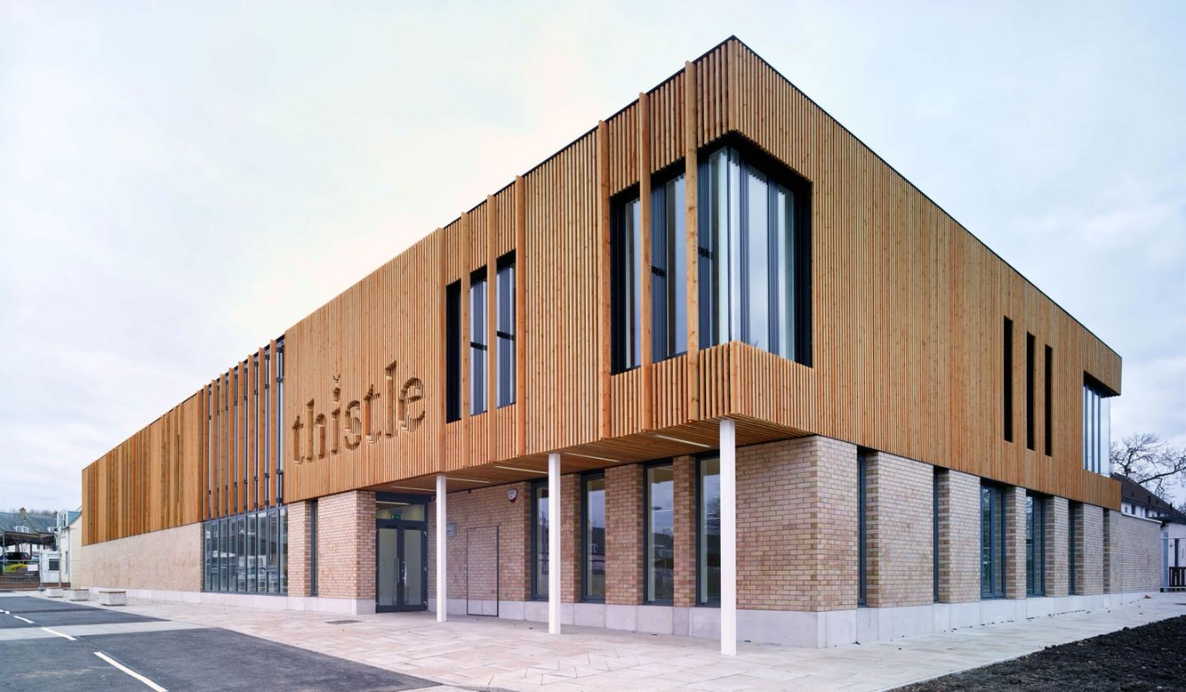 Thistle foundation centre of health wellbeing