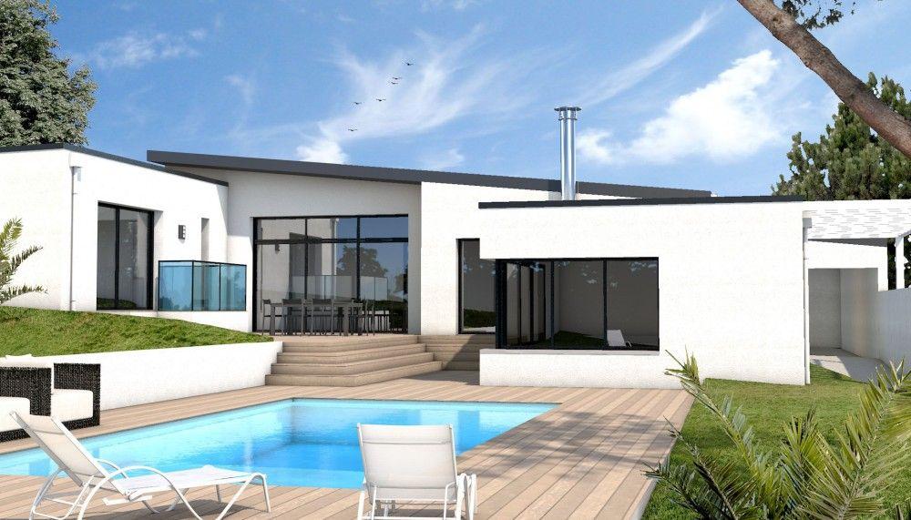 constructeur maison moderne auray morbihan 56 depreux construction inspiration pour la. Black Bedroom Furniture Sets. Home Design Ideas