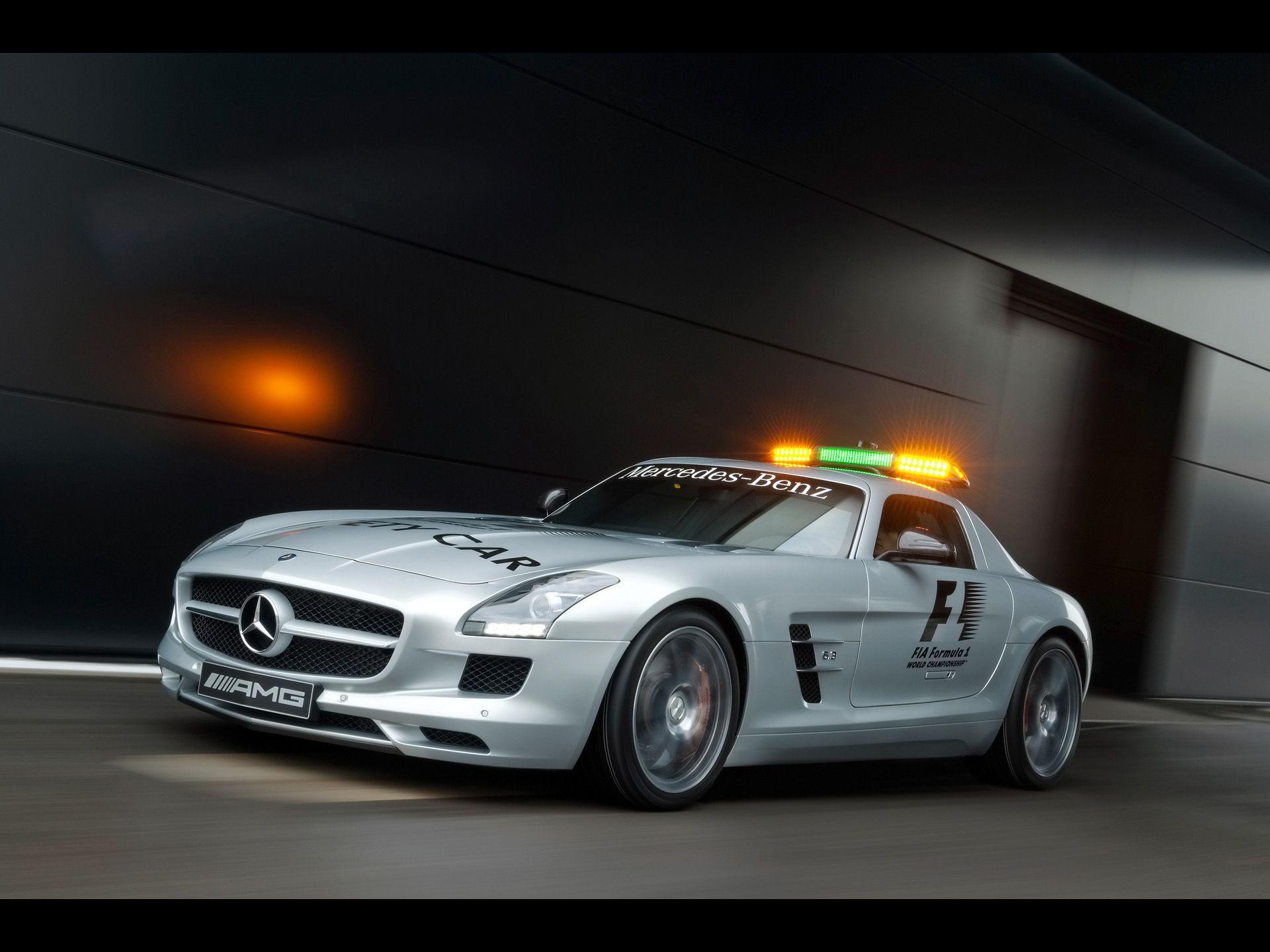 2010 Mercedes Benz Sls Amg F1 Safety Car Mercedes Sls Mercedes