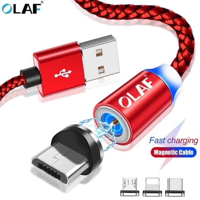 Mobile Phone Cables Cellphones & Telecommunications Olaf Micro Usb Cable Led Light Fast Charging Usb Type C Cable For Samsung Huawei Xiaomi Android For Iphone Mobile Phone Cables