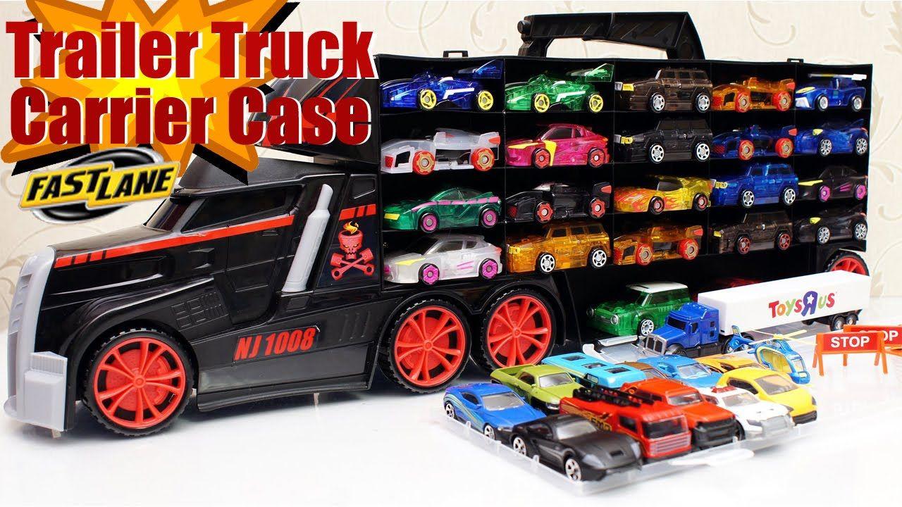 Fastlane Trailer Truck Carrier Case Toys For Boys Superxaviertoys Toys For Boys Trucks Toys