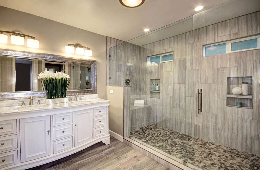 Luxury Master Bath Shower Ideas