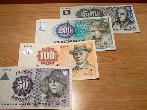 Currency Denmark Danmark Billeder Dansk