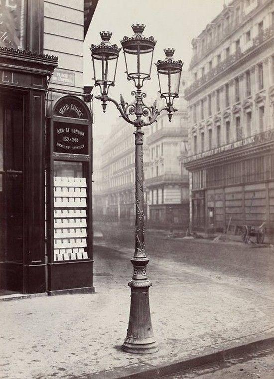 feuille-d-automne: Réverbère, place de l'Opéra / rue du Quatre ...