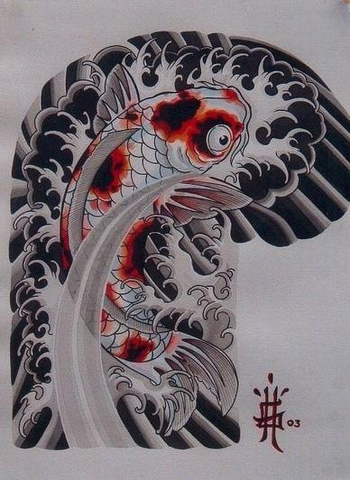 Yakuza Koi Tattoo : yakuza, tattoo, Conta, Tinta, Yakuza, Tattoo,, Tattoo, Designs,, Japanese