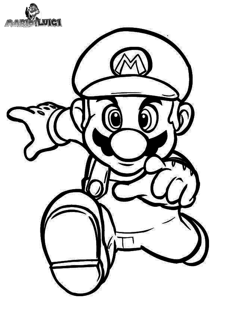 Mario And Luigi Coloring Pages | Bratz Coloring Pages | Rita | Pinterest