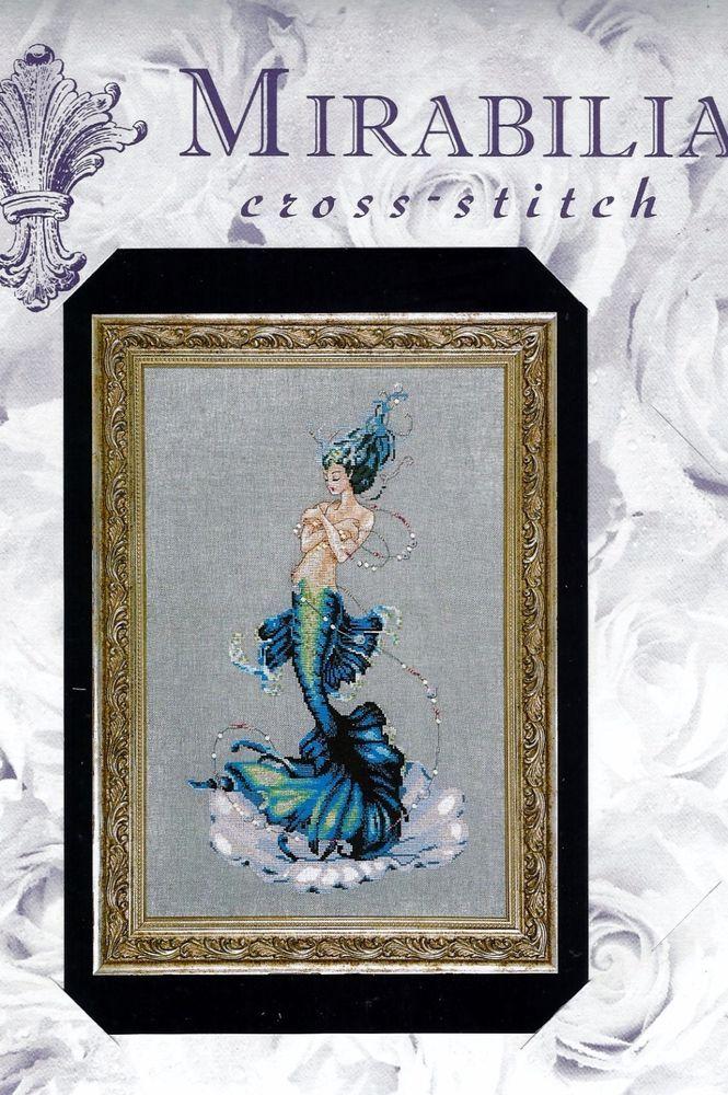 Nora Corbett Cross Stitch Chart Pattern ~ APHRODITE MERMAID