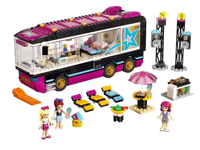 Lego friends heartlake grand hotel 41101 lego friends uk - Lego 41106 Friends Pop Star Tour Bus Lego Amazon Co Uk
