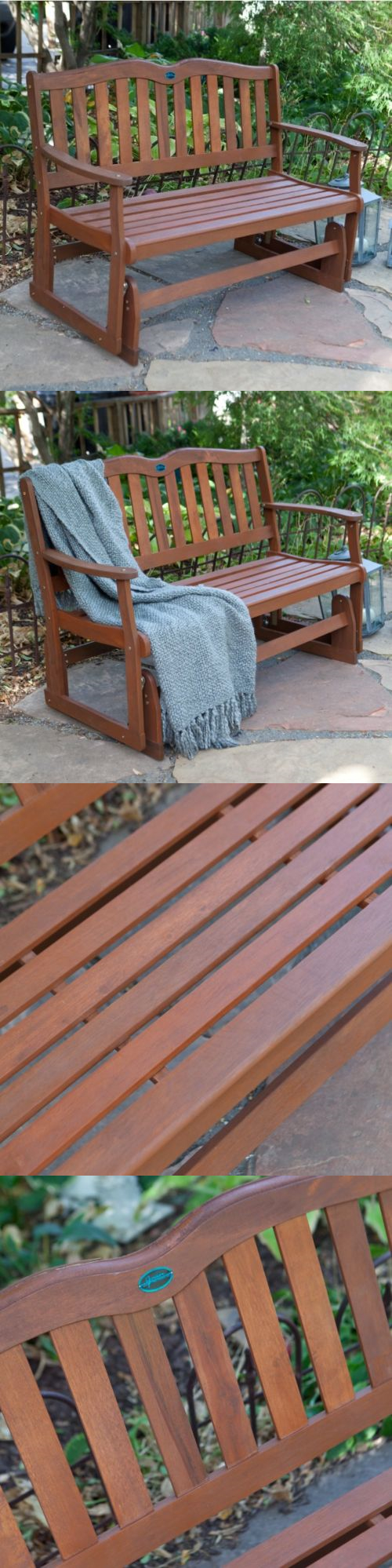 Benches front porch furniture glider loveseat outdoor patio