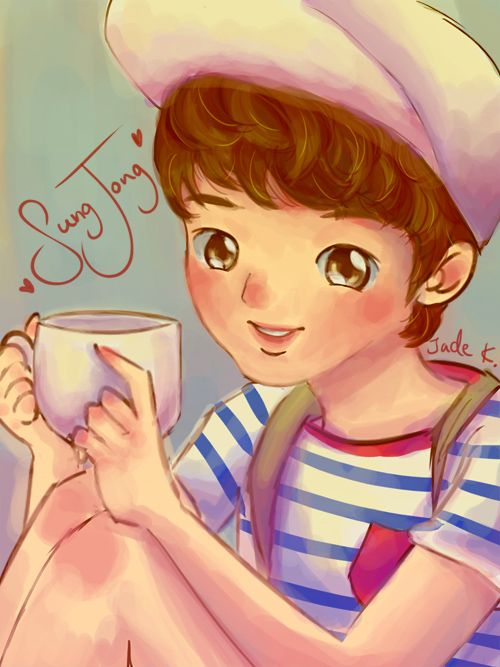 Infinite Sungjong - Tea Cup by Jade-Key.deviantart.com on @deviantART