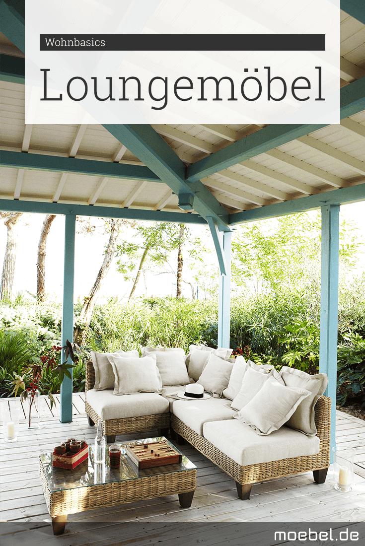 Loungemöbel für Garten und Terrasse | Draußen sitzen in weich ...