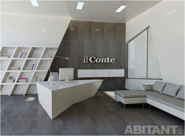 Проект - интерьер офиса il Conte. Дизайнер - Мария Яско