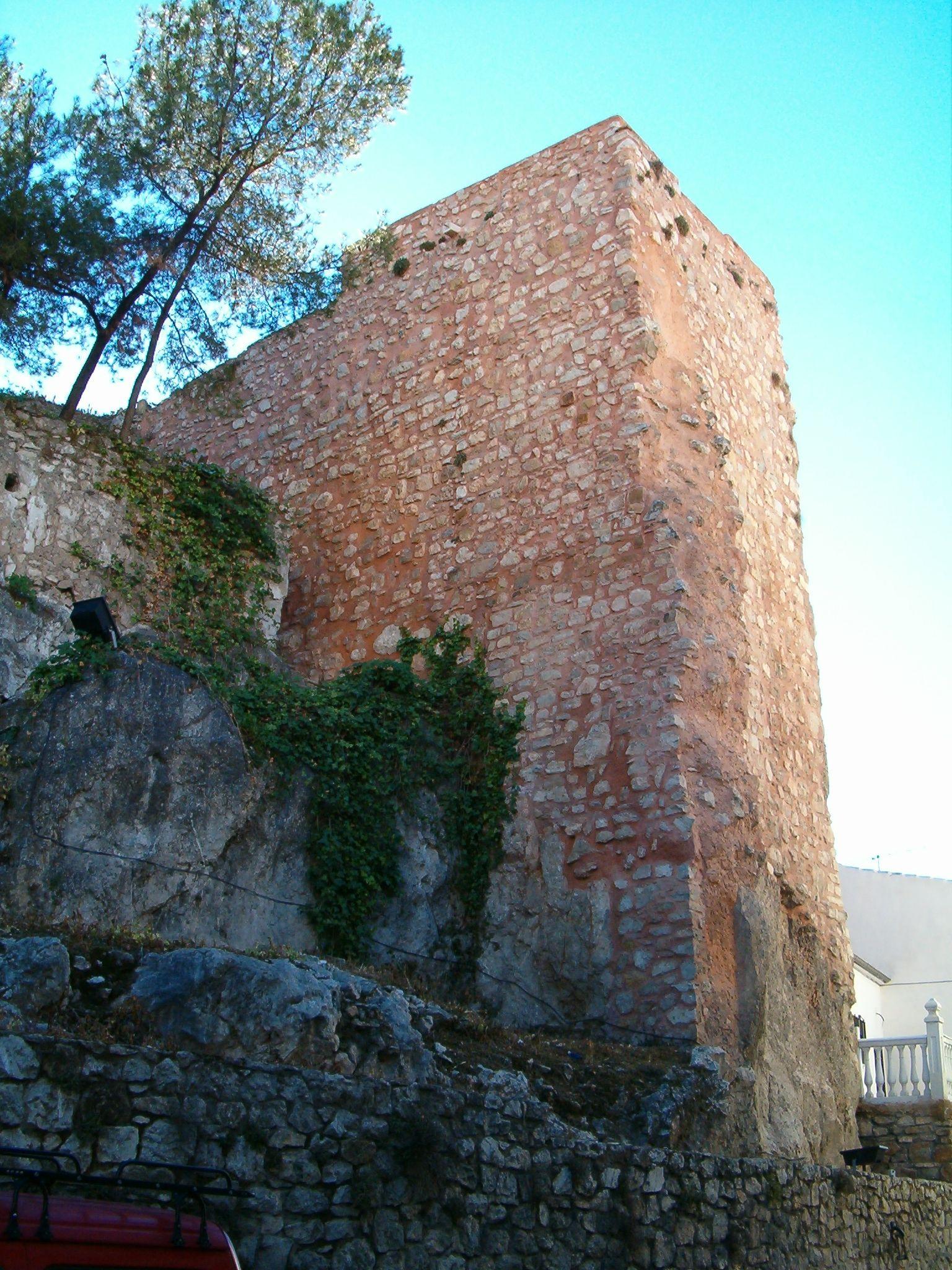 torre de la fortaleza baja de Martos en la calle Real