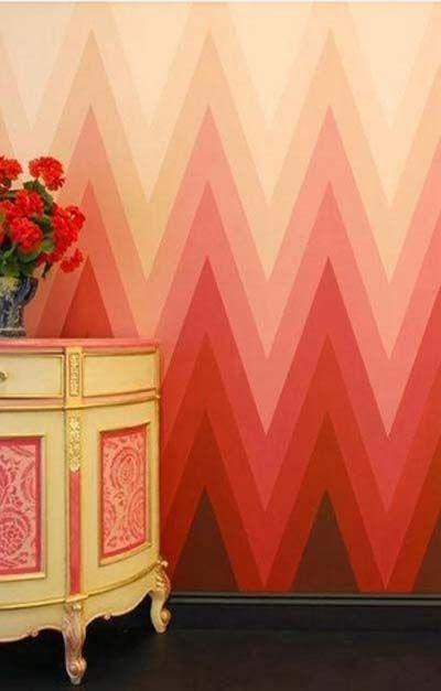 cmo pintar y decorar las paredes con efecto degradado