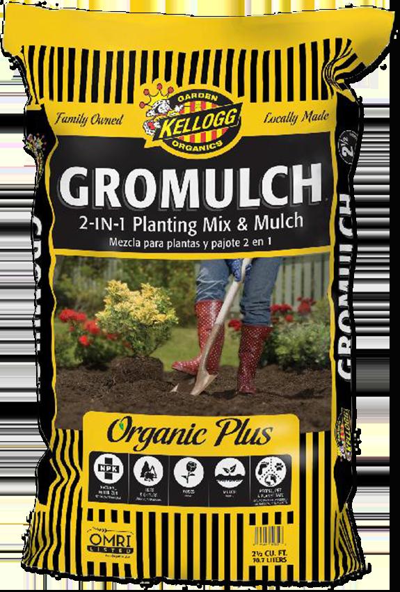 Kellogg Garden Organics Gromulch 2in1 Planting Mix