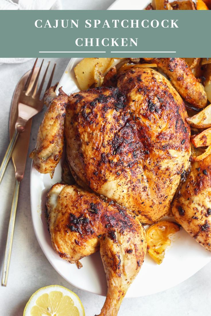 Cajun spatchcock chicken Recipe Spatchcock chicken