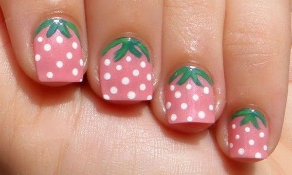 Pin By Suzanne Hanula Lopate On Nails Strawberry Nail Art Simple Nails Simple Nail Designs,Design Simple Poster Background Design Simple Background Images