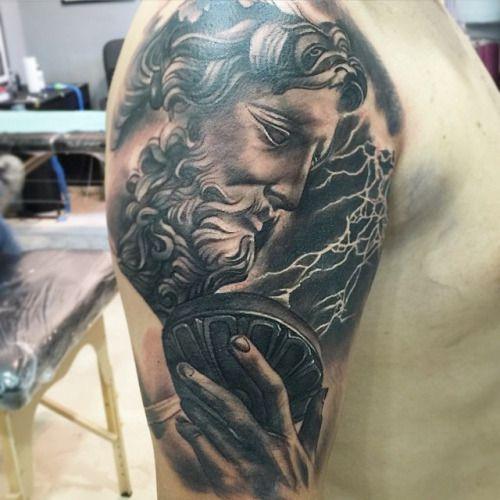 Zeus tattoo google search tattoos pinterest zeus for Zeus tattoo designs