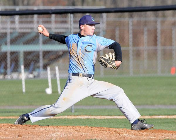 Cape Senior Griffin Kammerer Throws A One Hitter In The 2 0 Shutout Of Sussex Tech Click Http Capegazette Villagesoup Com Baseball One Hitter Baseball Team