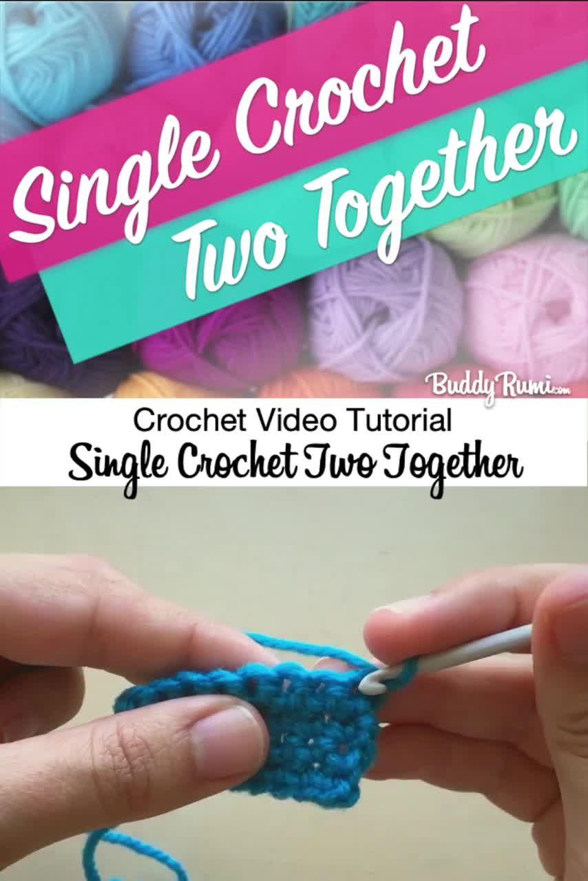 Photo of How to… Single Crochet Two Together