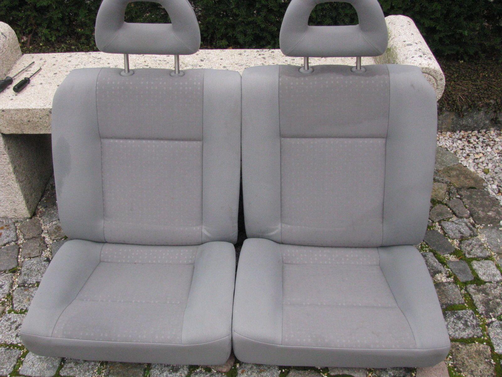 Seat arosa vw lupo rcksitzbank in grau mit kopfsttzen seat arosa vw lupo rcksitzbank in grau mit kopfsttzen fandeluxe Gallery