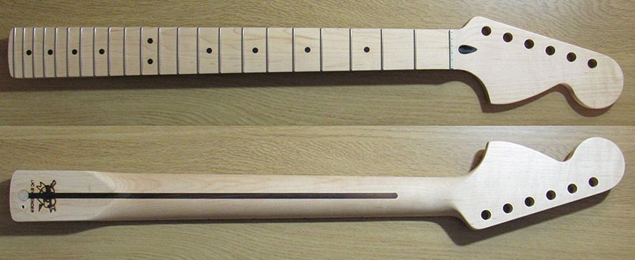 mighty mite mm2935 stratocaster maple neck large headstock fender mighty mite mm2935 stratocaster maple neck large headstock fender licensed