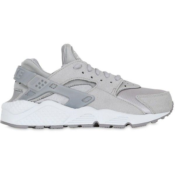 brand new f46d0 85dad Nike Women Air Huarache Run Faux Suede Sneakers (1 415 SEK) ❤ liked on