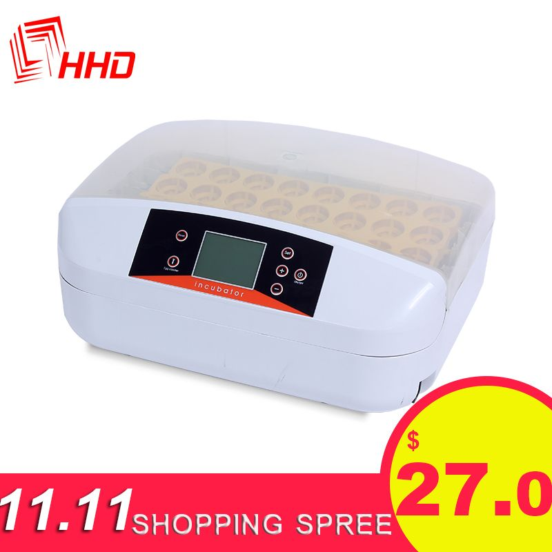 HHD high Hatching rate 32 poultry chicken egg incubator in