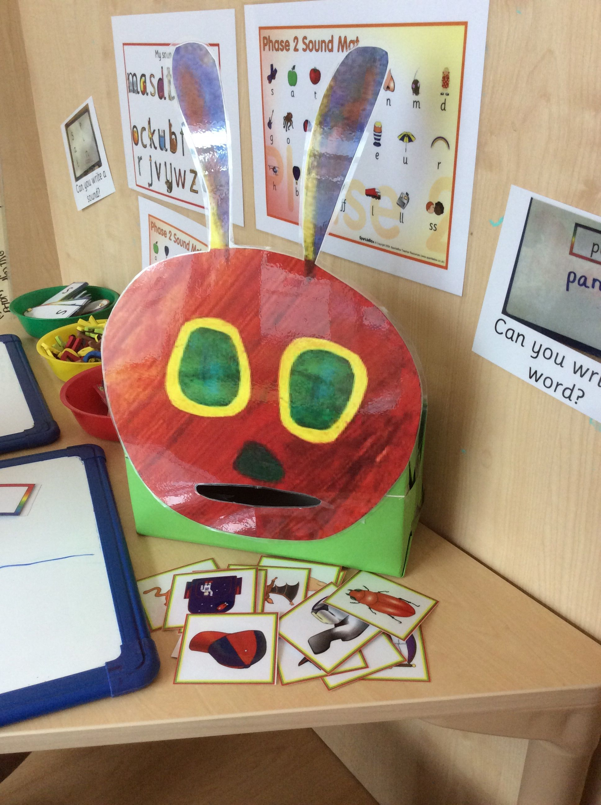 Hungry Caterpillar Phonics Cvc Word Activity Eyfs