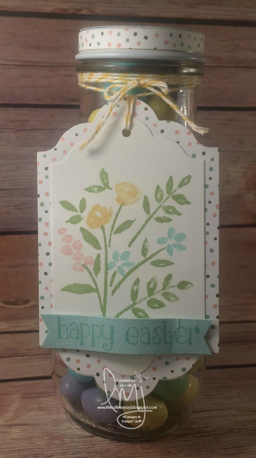 Literally My Joy: Stampin Friends Spring Blog Hop