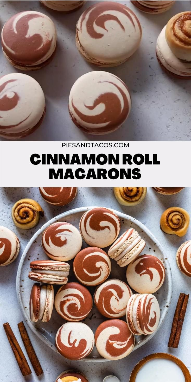 Photo of Cinnamon Roll Macarons